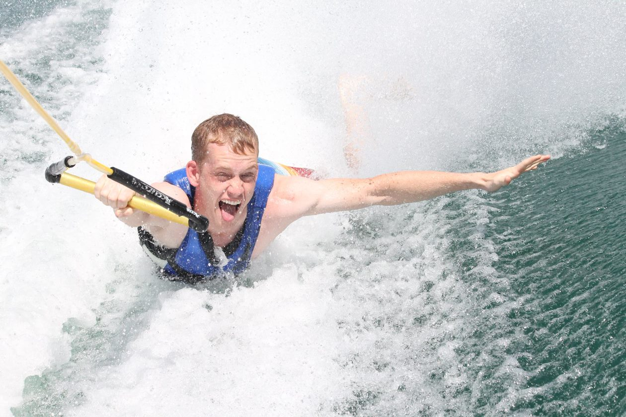 Initiatie waterski + adventure
