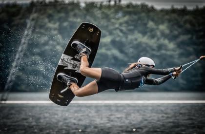 Waterski of wakeboard